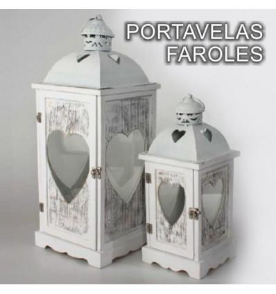 Regalos originales accesorios de cocina retro panera - Faroles portavelas exterior ...
