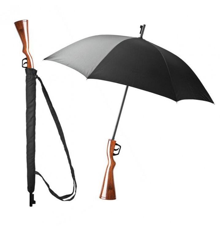 Paraguas escopeta rifle cazador