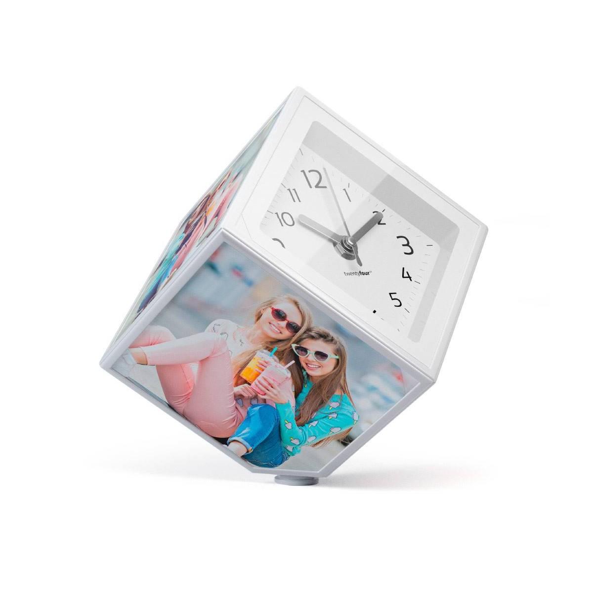 Comprar -Marco fotos Cubo movimiento con reloj - Kamir.es - Regalos ...