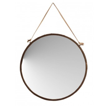 Descubre nuestra selecci n de espejos modernos de todos for Espejo redondo cuerda