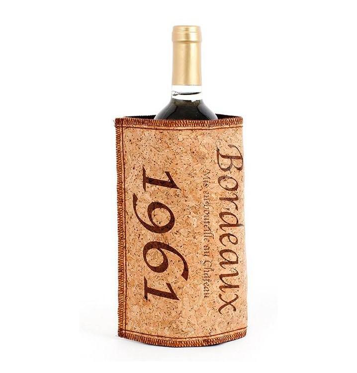 Enfriador botellas vino diseño corcho