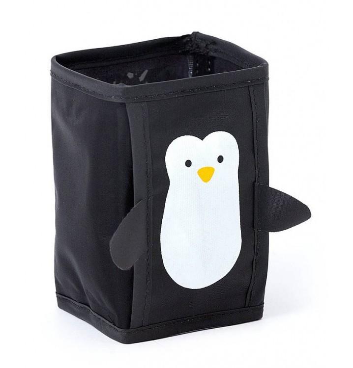 Juego 4 enfriadores latas y botellas congelador Pingüino