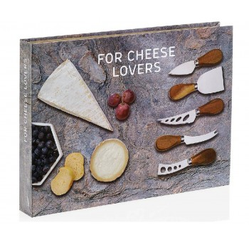 Set de regalo cuchillos queso Gourmet
