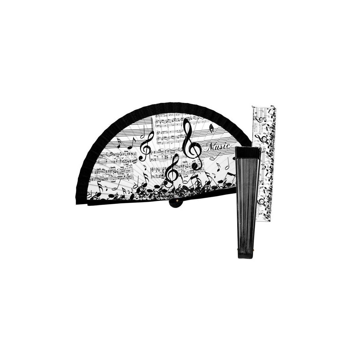 Abanico Notas Musicales