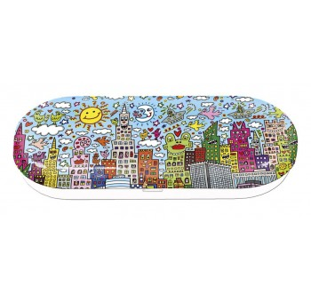Funda estuche gafas metal New York Kids