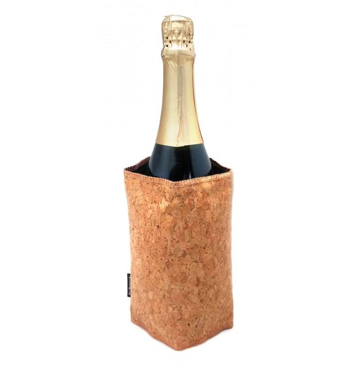 Funda enfriadora congelador de botellas corcho