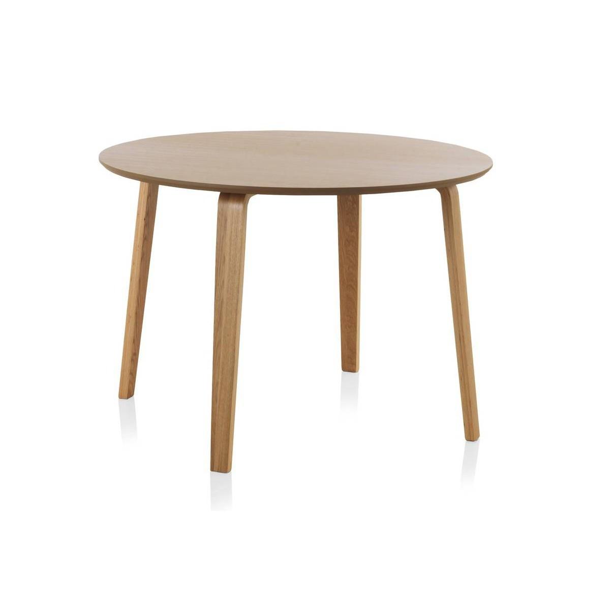 Mesa redonda comedor madera roble finland modelo 3 - Mesa comedor redonda ...