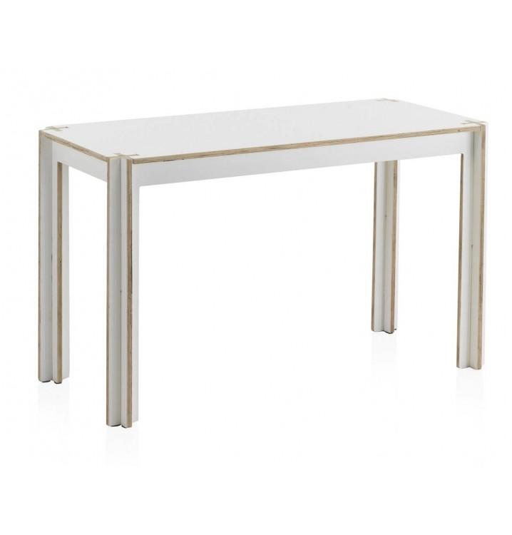 Mesa escritorio kids madera blanca - Mesa escritorio madera ...