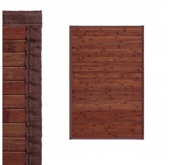 Alfombra bambu 60x90 natural nogal