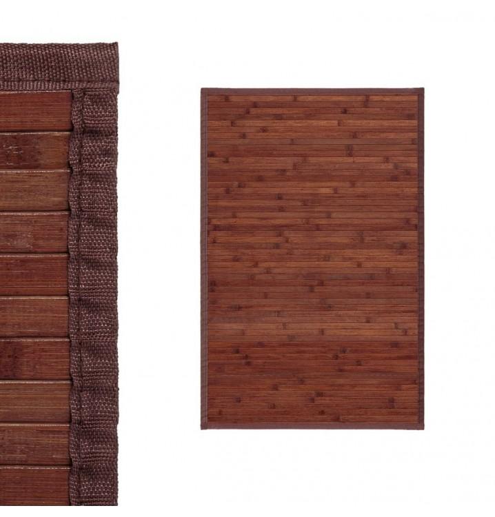 Alfombra bambu 60x90 natural nogal