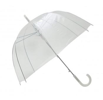 Paraguas seta transparente adulto basic