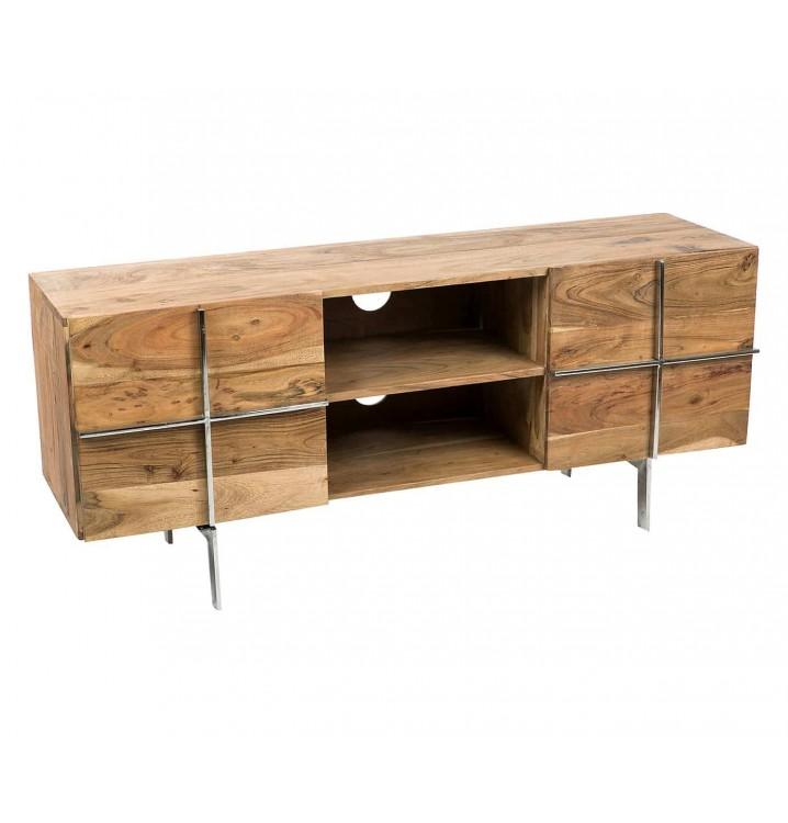 Mueble televisión Manitoba madera 2 puertas