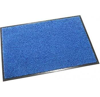 Felpudo de entrada 40x60 interior azul poliéster