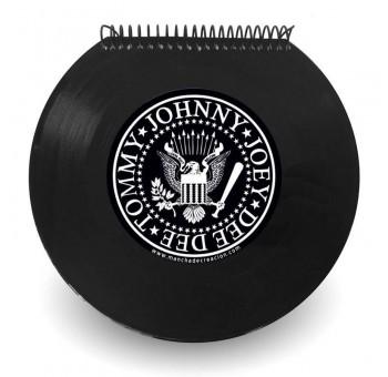Libreta cuaderno Disco vinilo Single Ramones