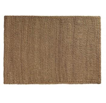 Alfombra 210x150 algas marinas marrón rectangular
