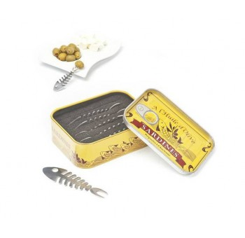 Palillos Caja sardinas vintage